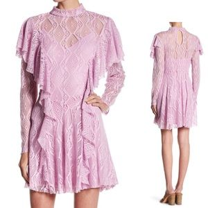 FREE PEOPLE Lace Dress with matching slip NWT 🌸